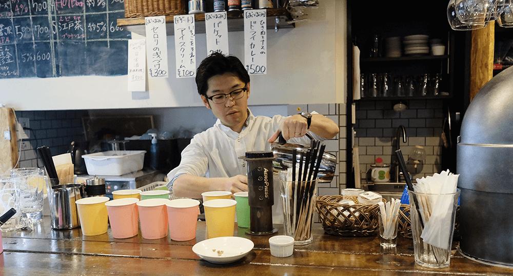 永代ブルーイング 工房&Tap Room[『ビールを飲みながらはじめてのコーヒー焙煎』ワークショップ: