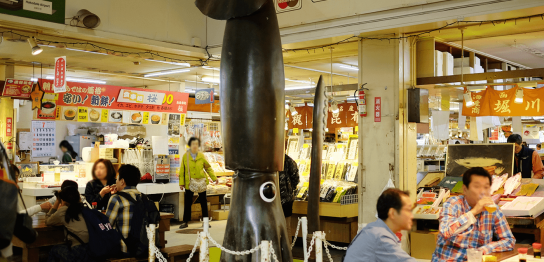 函館朝市駅二市場(はこだてあさいち えきにいちば)