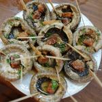 【マドリード】Mesón del Champiñón(メソン・デル・チャンピニョン)直訳すると『マッシュルームの館』?スペインの美味しい野菜とサングリアで乾杯@Madrid, Spain