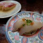せっかくだから沖縄のあの青い魚を食べたい(笑)回転寿司 一番亭