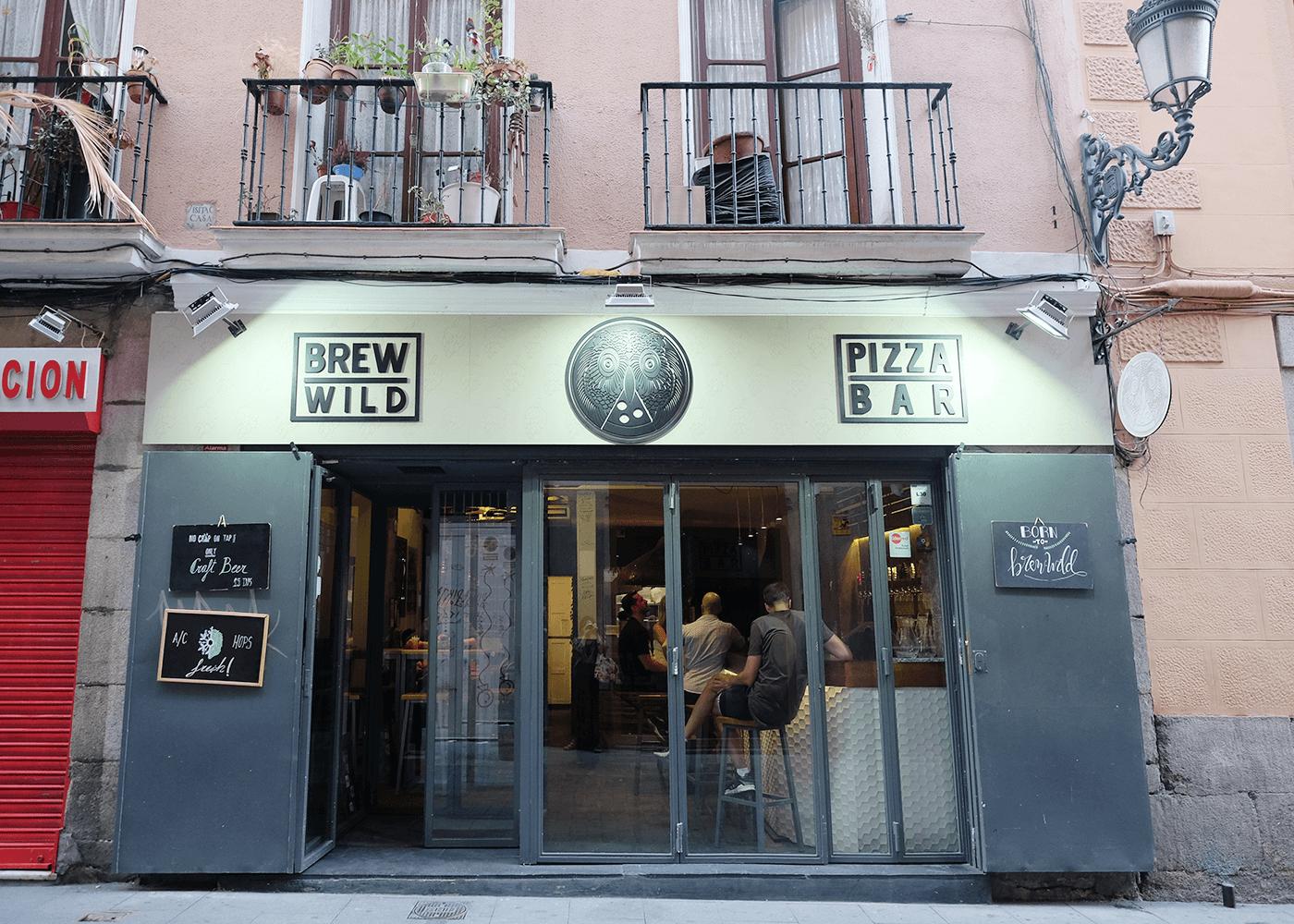 Pizza Bar Brew Wild(ピザバー ブリューワイルド)