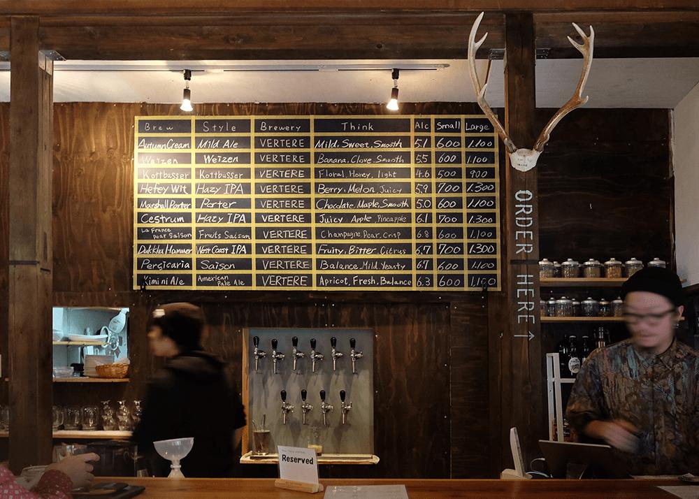 ビアカフェ バテレ(Beer Cafe VERTERE)