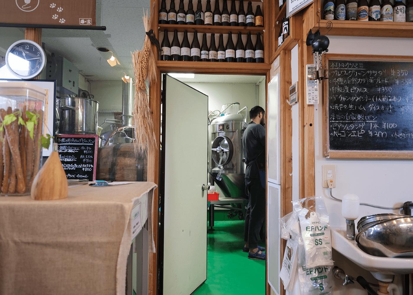 麦雑穀工房マイクロブルワリー(ざっこくこうぼうMicro Brewery)